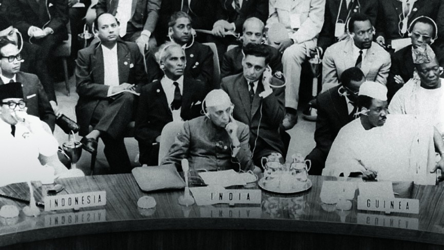After Year Zero | Delegates at the Bandung Conference the first large-scale Afro–Asian conference, 1955