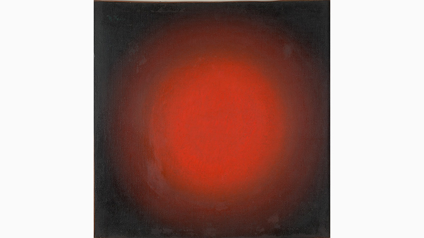 Iwan Kljun, Rotes Licht. Sphärische Komposition, 1923 | Greek State Museum of Contemporary Art – Costakis Collection, Thessaloniki