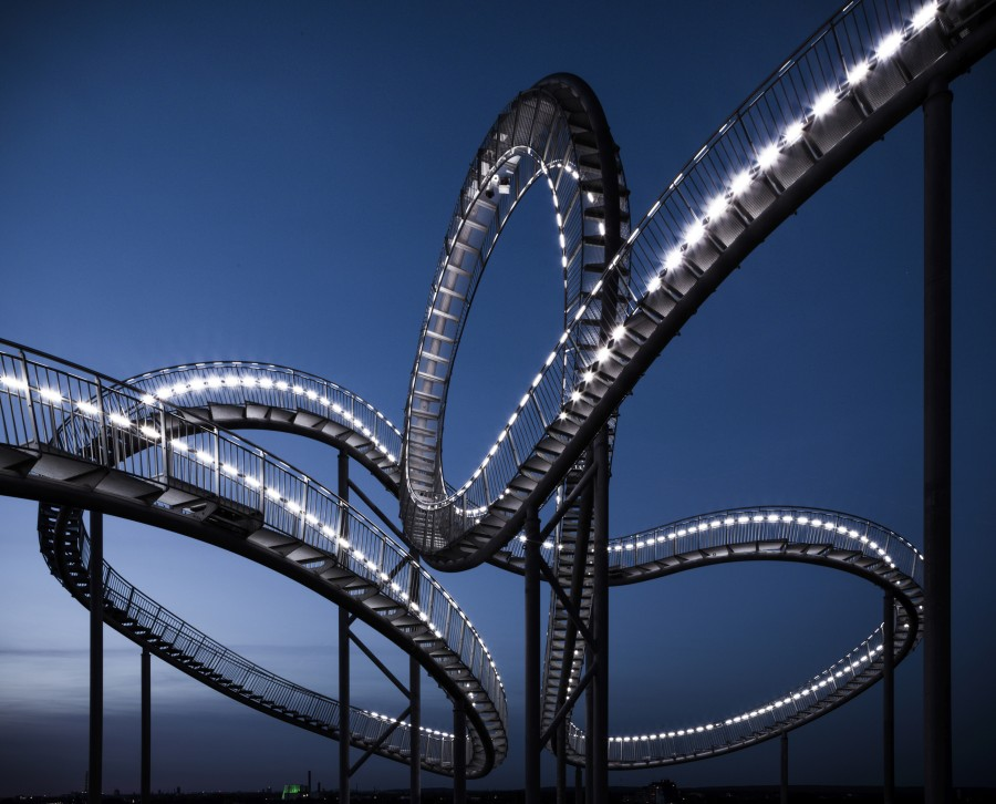tiger and turtle - magic mountain, © Heike Mutter / Ulrich Genth, 2009–2011 | Foto: © Martin Siegner / FRMEZ